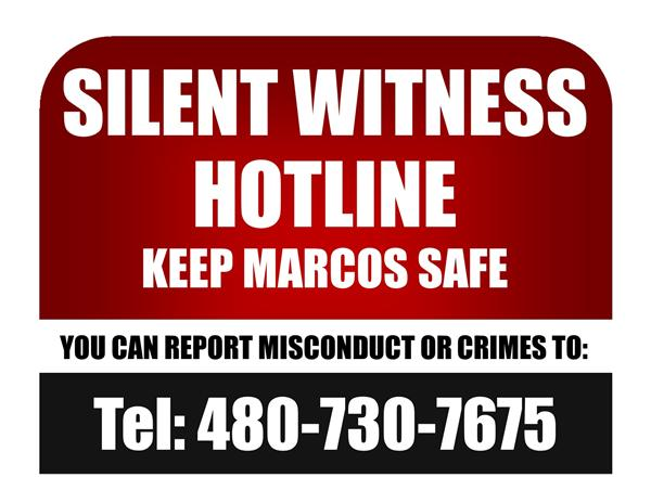 Silent Witness Hotline