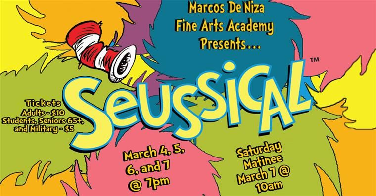 Seussical March 4, 5, 6, & 7th