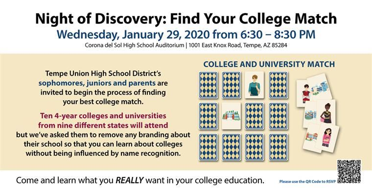 Night of Discovery: Find Your College Match