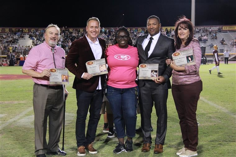 Mountain Pointe hall of fame 2019