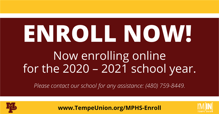 2020-2021 Enrollment Now Open!