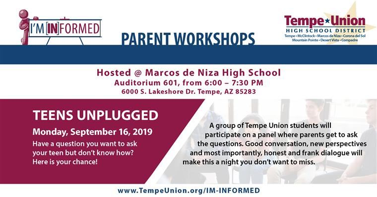 I'm [IN]formed: Teens Unplugged