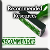 Recommended Resources button