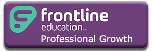 Frontline Professional Growth button to external link