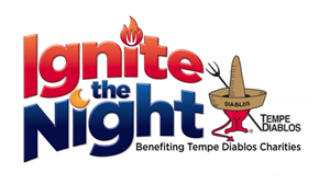 Ignite the Night Tempe Diablos logo
