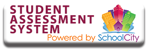 TUHSD Student Assessment System button - Powered by SchoolCity
