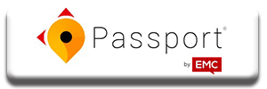 Passport by EMC button to external website