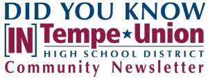 Did you know [IN] Tempe Union Community Newsletter logo