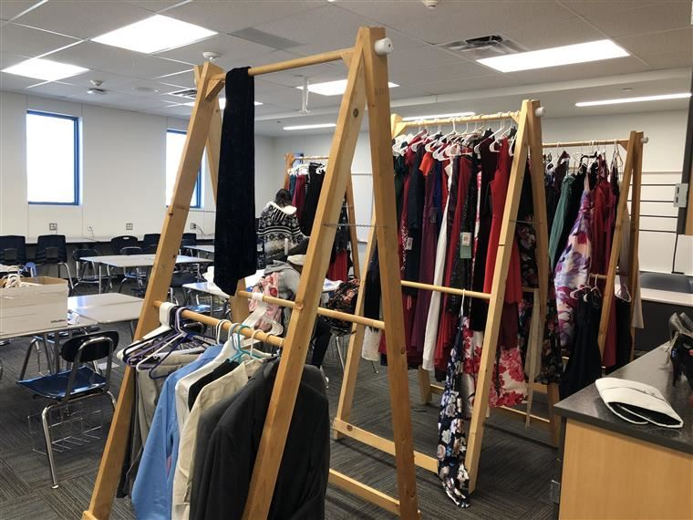 Winter Formal Dress Shop at Compadre Academy