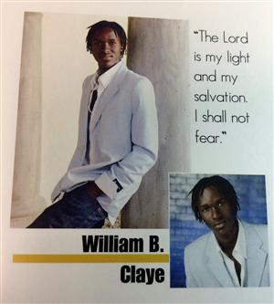 Will Claye in 2009 Yearbook