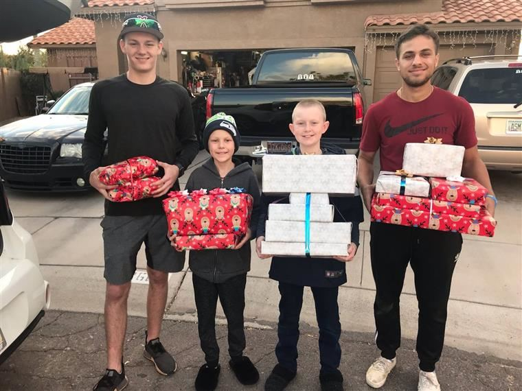 Mountain Pointe Baseball Christmas Angels project
