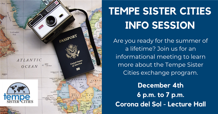Tempe Sister Cities Exchange Program