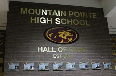 Mountain Pointe High School Hall of Fame