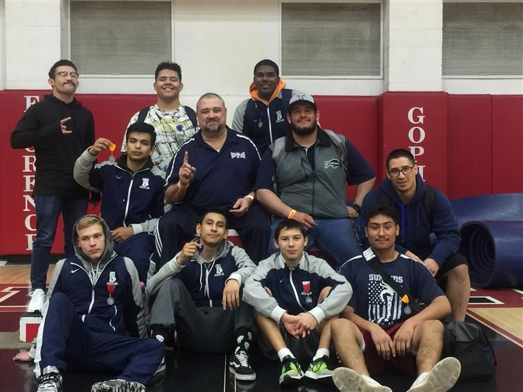 Tempe High Wrestling State 2019