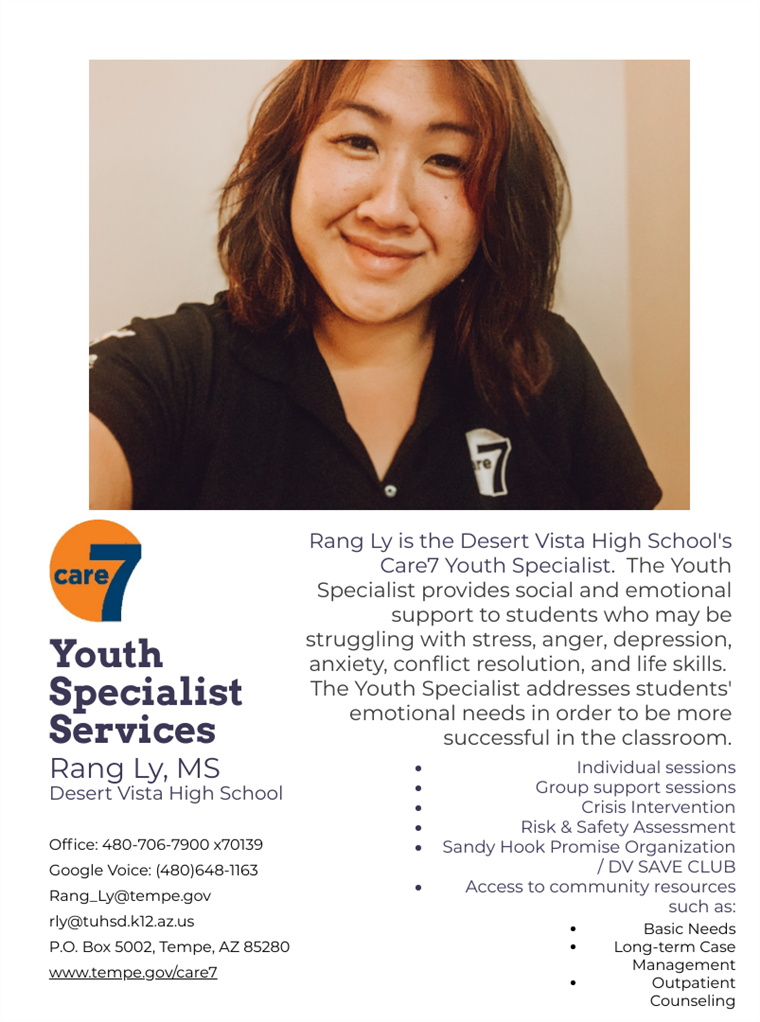 DV Care7 Youth Specialist