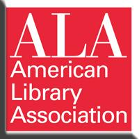 American Library Association button