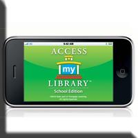 Access my Library button