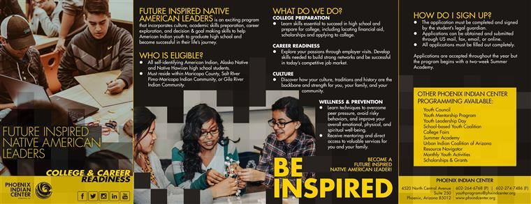 Future Inspired College and Career Readiness Image Flyer