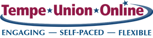 Tempe Union Online Logo - Engaging, Self-Paced, Flexible