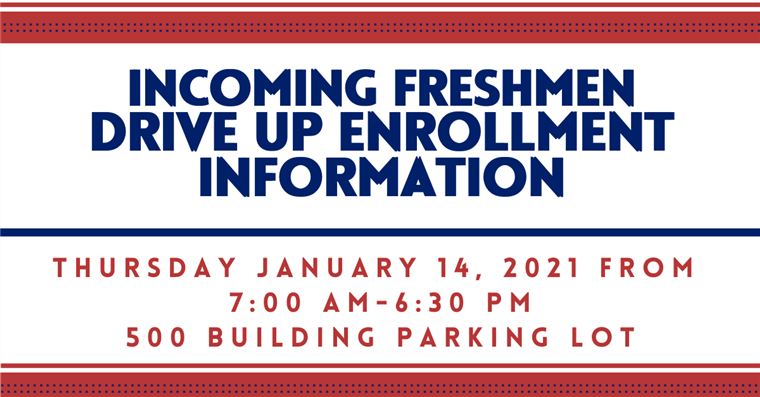 Incoming Freshmen Drive Up Enrollment Information
