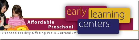 Preschool - ELC Click Here to Learn More