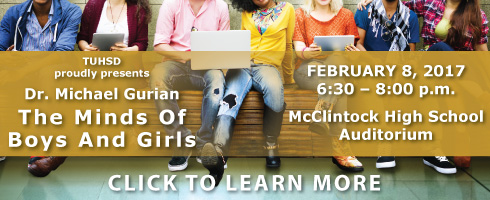 SPECIAL EVENT - The Minds of Boys and Girls presented by Dr. Gurian