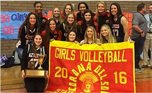Corona del Sol Volleyball State Champs