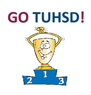 GO TUHSD Cartoon Trophy