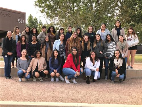 MPHS students attend Hermanas Latinas STEM Conference