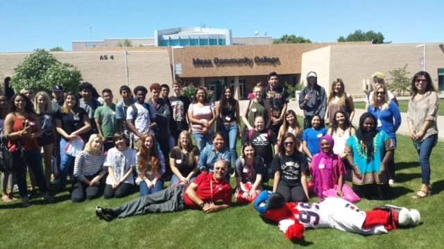 TUHSD students visit Mesa Community College